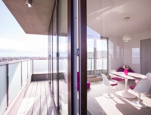 luksusowy apartament w wieżowcu