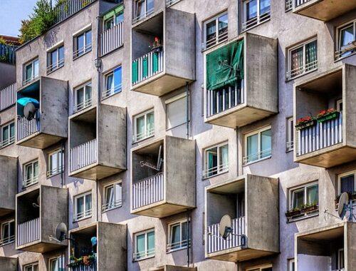bloki mieszkalne w Polsce